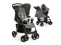 Brand New - Hauck Shopper SLX Shop n Drive Travel System (Stone/Grey)