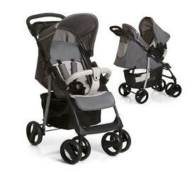 Brand New - Hauck Shopper SLX Shop n Drive Travel System (Stone/Grey)