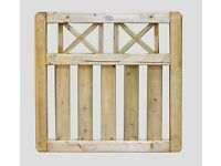 Boundary Garden Gate Pressure Treated From £55.00 Each Call 0161 962 9127 Or Visit WA15 7AL