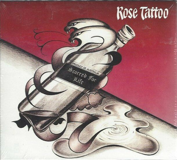 ROSE TATTOO - SCARRED FOR LIFE - (still sealed digi pak cd) - AHOY DPX 609