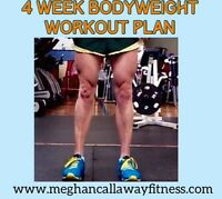 4 + 12 week plan to achieve your goal body/fitness level