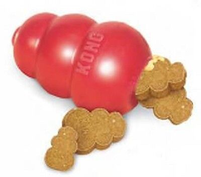 (Dog Toy Kong Classic Red For Dogs Medium