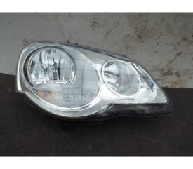 Genuine Volkswagen Polo Halogen Twin Headlights. They fit Polo/Derby/Vento 2005 to 2010