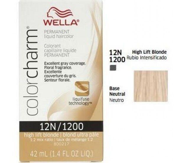 Wella Color charm 12N / 1200 Blonde Professional Permanent Hair colour Dye