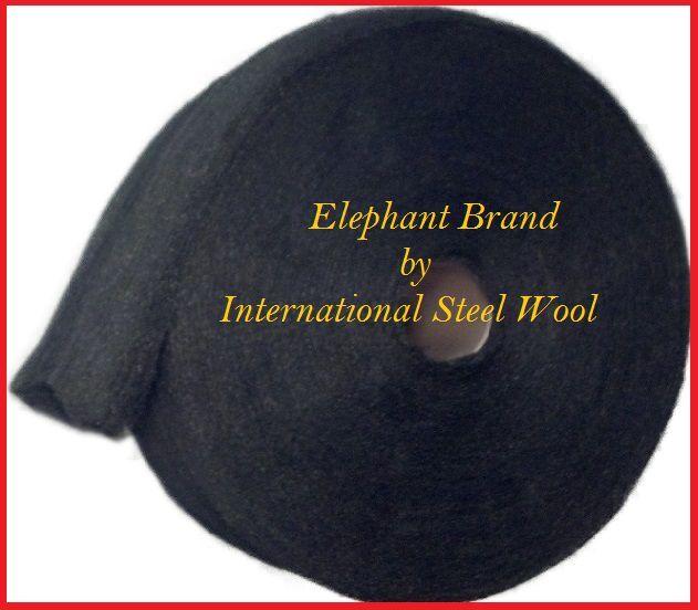 25 lb Case Steel Wool Rolls, Grade #00 FINE