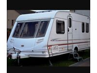 4 BERTH 2001 STERLING ECCELES WITH FIX BED END BEDROOM AND AWNING WE CAN DELIVER PLZ VIEW