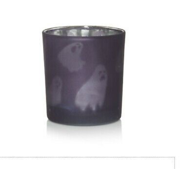 YANKEE CANDLE HALLOWEEN 2020 GHOULIE GHOST PURPLE TEA LIGHT VOTIVE CANDLE HOLDER