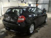 BMW 1 SERIES 118D 2.0 DIESEL E87 BLACK BREAKING ALL PARTS