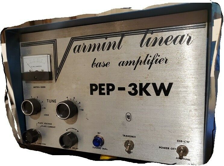 Varmint (4) 6LR6 tube RF amplifier