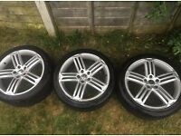 Three Genuine VW Scirocco Alloys Type R 18inch Alloys