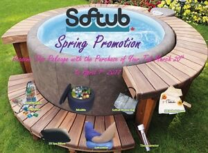 """WOW""!!!  SOFTUB SPRING PROMOTION!!!!!!!"