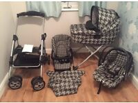 Mamas and Papas car seat/pushchair/travel system