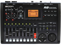 Zoom R8 digital 8 track recorder