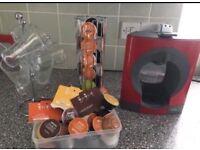 Nescafé dolce gusto coffee machine with accessories