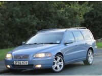 +++Volvo V70 2.4 D SE Geartronic 5dr +NEW SHAPE++AUTO++LEATHER++NAV