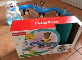 Fisher Price Sit and Crawl Polar Coaster