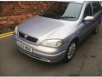 2002 VAUXHALL ASTRA ESTATE 1.6 PETROL MANUAL 5 DOOR