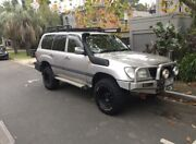 1998 Toyota Landcruiser  GXL 105 series Auto Moonee Ponds Moonee Valley Preview