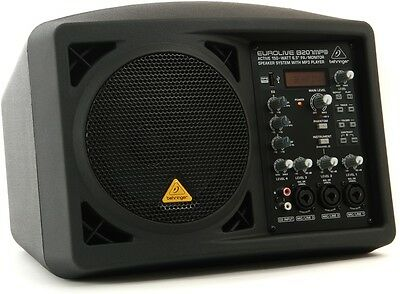 Behringer B207MP3 Mint Active PA/Monitor Speaker System with MP3 Player 150-Watt