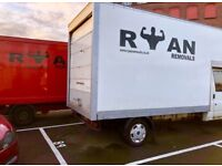📦 RYAN REMOVALS- Man with Van / 2 -4 men/ Moving/ man and van/ House moves student