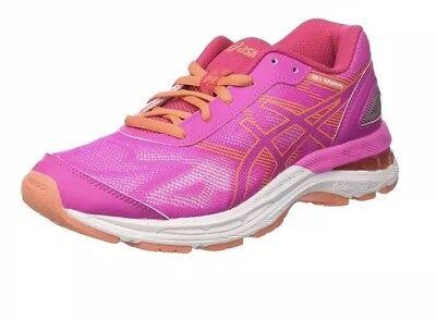 399e831f7d1024 Asics Kids  Gel-Nimbus 19 Gs Gymnastics Shoes Eur38  UK 4.5 Pink