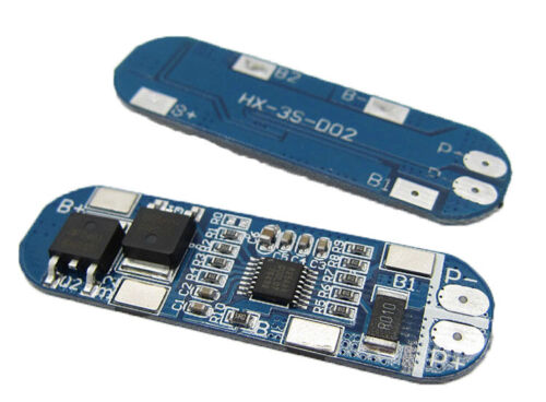12V BMS Charging Charger Protection Board Lithium Battery Cell