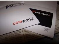 Cineworld Gift Unlimited Card ECode