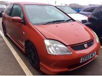 "2003/03 Honda Civic 2.0i Vtec Type R (EP3) ""Milano Red"""