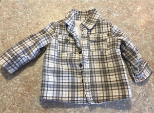 12 month Boys Lumber Jacket perfect for spring/fall