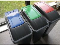 3 Recycling Bins Perfect Condition