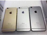 APPLE IPHONE 6 16GB UNLOCKED MINT CONDITION COMES WITH WARRANTY & RECEIPT