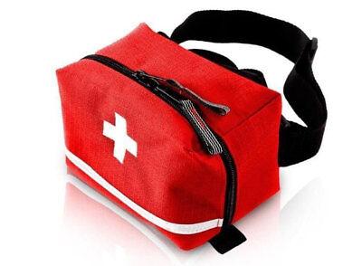 kleine Medikamententasche TRM-47 Gürteltasche Bauchtasche Hüfttasche leer ROT ()