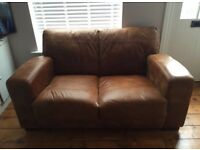 Gorgeous DFS leather sofa *current range*