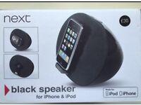 Black Speaker for iPhone 4&4s&ipads