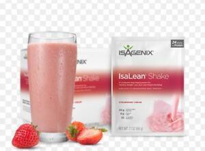 Isagenix New Box French Vanilla & Strawberry IsaLean Shakes