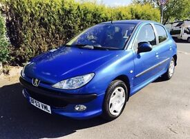 PEUGEOT 206 1.4 LX AUTOMATIC TOP SPEC BARGAIN (07468 100 005)