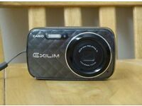 Casio EX-N1 16mp digital camera + extras