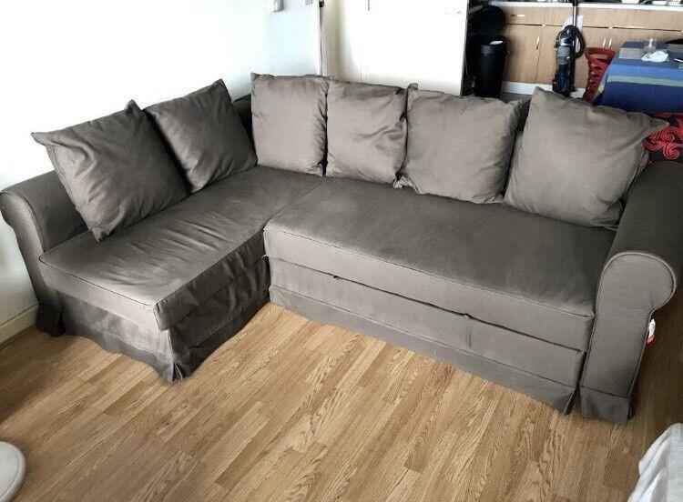 Superb Free Delivery Ikea Moheda Brown Sofa Bed Good Condition In Paddington London Gumtree Creativecarmelina Interior Chair Design Creativecarmelinacom