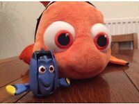 Finding Dory gift set, brand new book dory and Disney store Nemo