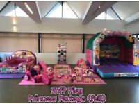 Princess Soft Play-Various Packages Available for Hire-Bouncy Castle-Pop Corn Candy Floss Candy Cart