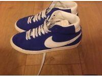 Women's royal blue Nike blazers