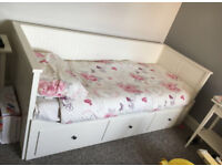 IKEA Day Bed Complete with 2 Mattresses