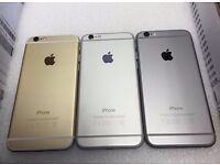 APPLE IPHONE 6 16GB - 64GB - 128GB UNLOCKED WITH RECEIPT AND WARRANTY FROM