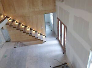 Drywall Installation, Taping/ Mudding, Stucco removal,