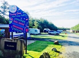**Percy Wood Country Park, Northumberland Seasonal Touring Pitch March-Oct 2017 for £2175.00**