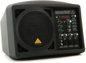 Behringer Eurolive B207MP3 150W Active PA Speaker with 4-channel