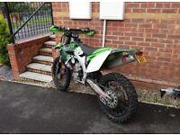 KX450F motorcross bike stolen