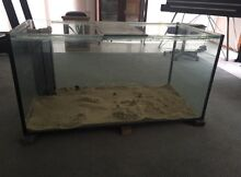 4 x 2 x 2 foot fish tank with stand and sump filter Cordeaux Heights Wollongong Area Preview