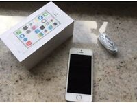 iPhone 5S EE - Virgin silver Very Good Condition