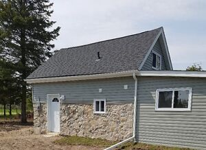 Newly Renovated House + Barn in Country on 1 Acre Fenced Lot